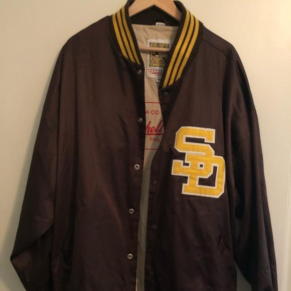 wholesale dealer 34175 6f4ec 🔴 Classic 1973 San Diego Padres Baseball Jacket